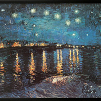 Starry Night over the Rhone, c.1888 Prints by Vincent van Gogh at AllPosters.com
