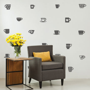 Barista Variety Pack Wall Decals