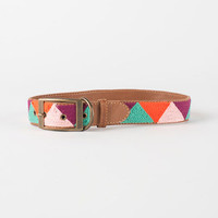 Pink and Purple Triangle Dog Collar