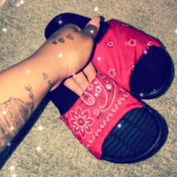 Bandana Slides WOMEN