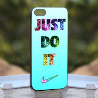 Nike Just Do It - Design available for iPhone 4 / 4S and iPhone 5 Case - black, white and clear cases
