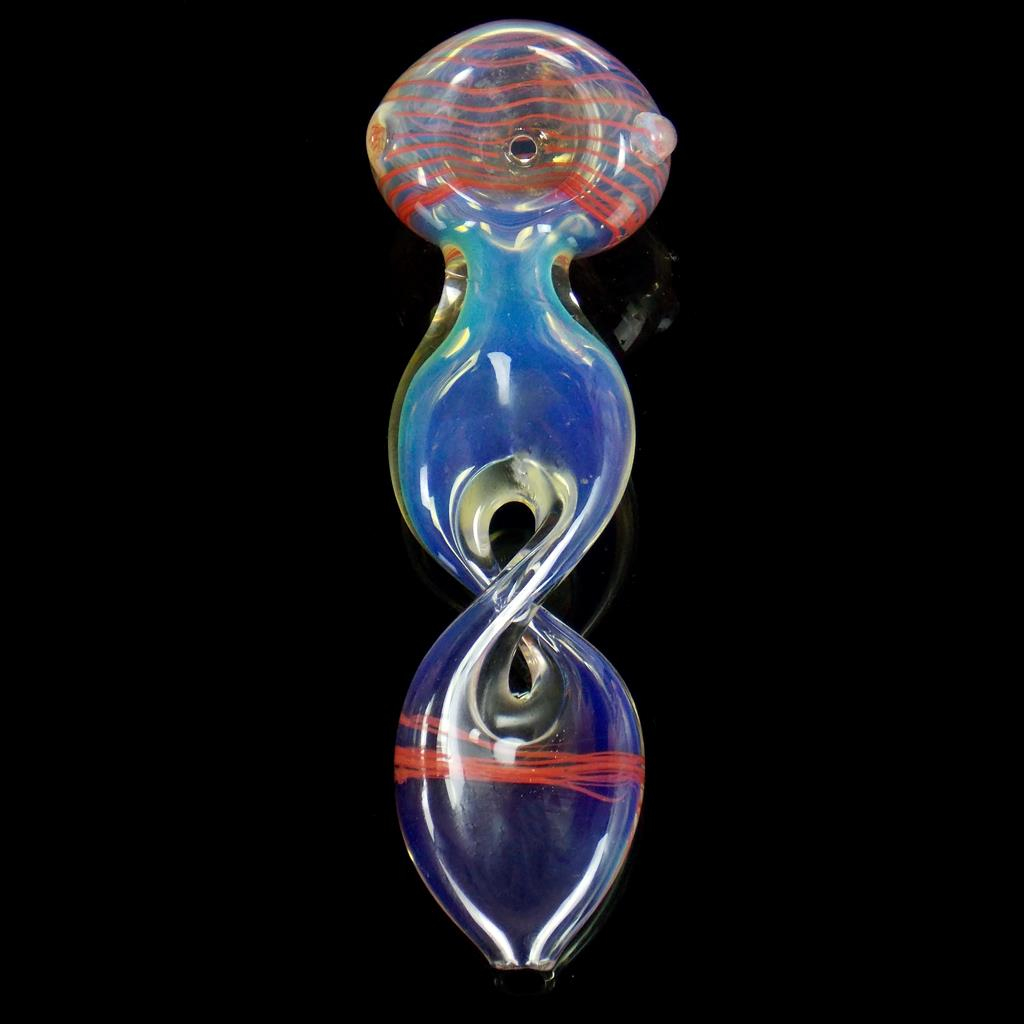 Image of Twisted Helix Red Spoon