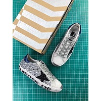 Ggdb Golden Goose Uomo Donna Silver Black Blue Fashion Sneakers