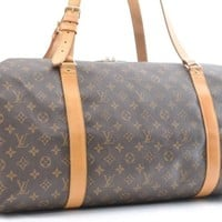 Auth Louis Vuitton Monogram Kabul Garment Cover Shoulder Bag M41225 LV 43144