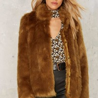 Erin Faux Fur Jacket