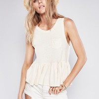 Free People Continental Peplum