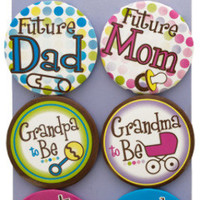baby shower pins Case of 24