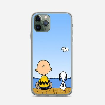 Snoopy And Charlie Brown iPhone 11 Pro Max Case