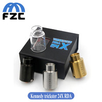High Quality Kennedy Trickster X 24mm RDA Atomizer Rebuildable Dripping Vape tank