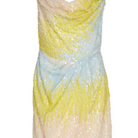 Edmund Ombre Sequin Mini Dress | Moda Operandi
