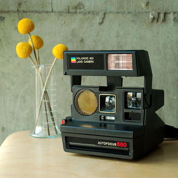 Polaroid Autofocus 660 600 Land Camera Vintage 80's by vint