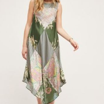 Tiny Trouvaille Dress in Green Motif Size:
