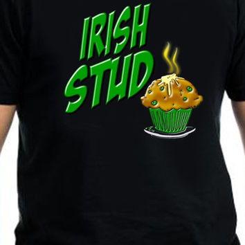 Irish Stud Muffin St. Patrick's Day T-Shirt