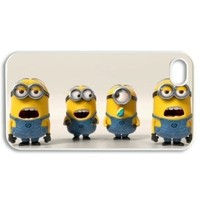 Despicable me hard case cover skin for iphone 4 4s, Minions hard case cover skin for iphone 4 4s:Amazon:Cell Phones & Accessories