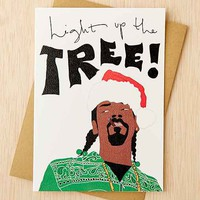 Tay Ham Light Up The Tree Holiday Card