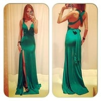 Suppion® Long Evening Party Ball Prom Gown Formal Bridesmaid Cocktail Dress