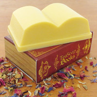 Pride and Prejudice Book Soap - White Tea Ginger