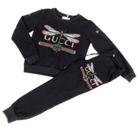 ONETOW GUCCI  dragonfly Sweater suit