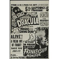 Horror Show Vintage Movie Poster