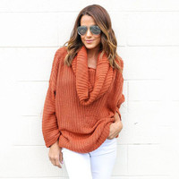 Fall Winter Fashion Long Sleeve Pullover Knit Sweater [9150488967]