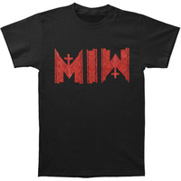 Motionless In White Men's  Acronym T-shirt Black Rockabilia