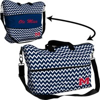 Logo Chair Ole Miss Rebels Chevron Expandable Tote