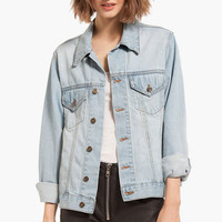 Saved By The Denim Jacket $65