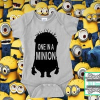 One In A Minion - Infant One-Piece - Bodysuit - Funny - Humor Onesuit