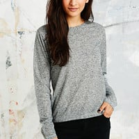 BDG Marled Skinny Linen Top - Urban Outfitters