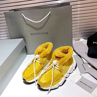 BALENCIAGA  Fashion Men Women's Casual Running Sport Shoes Sneakers Slipper Sandals High Heels Shoes