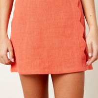 Standout Style Spiced Orange Skirt