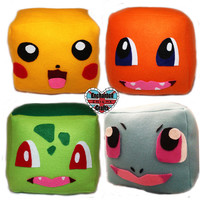 Pokemon Plush Cube Pillow