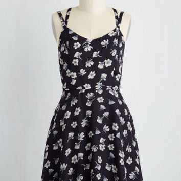 Ready, Willing, and Excitable Dress | Mod Retro Vintage Dresses | ModCloth.com