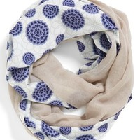 Leith Floral Print Infinity Scarf