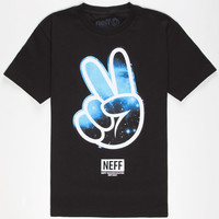 Neff Cosmic Concord Boys T-Shirt Black  In Sizes