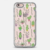 Cute Cactus Pattern iPhone 6s Plus case by Claudia Ramos   Casetify