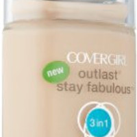 Covergirl Outlast Stay Fabulous 3-in-1 Foundation, Classic Ivory 810, 1 fl oz
