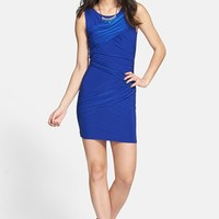 Soprano Ruched Body-Con Dress (Juniors) | Nordstrom