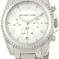Michael Kors Women's MK5165 Silver Blair Watch:Amazon:Watches