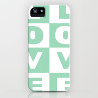 Love Mint iPhone Case by Project M | Society6