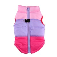 Colorful Cute Puppy Pet Dog Cat Winter Warm Coat Padded Vest Jacket Costumes Comfortable Clothes XS-L AA