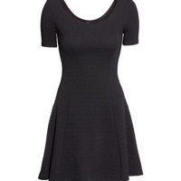 Texture-patterned Dress - from H&M
