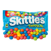 Skittles Candy Packs - Tropical: 36-Piece Box