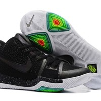Nike Kyrie Irving 3 Black Sport Shoes US7-12