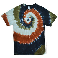 Sahara Spiral Tie Dye T Shirt on Sale for $16.95 at HippieShop.com