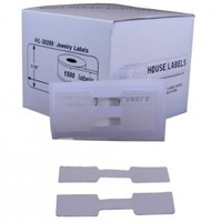 Houselabels Dymo-Compatible Jewelry Price Tags, Barbell Style, 1500 Labels per Roll (HL-30299)