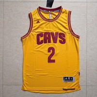 kyrie irving 2 cleveland cavaliers swingman men s adidas yellow jersey