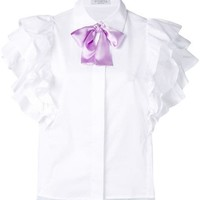 Vivetta Ruffled Sleeve Shirt - Farfetch