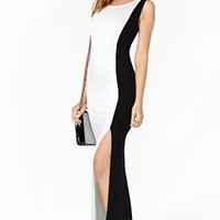 Nasty Gal Double Life Maxi Dress