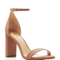 VINCE CAMUTO Mairana Ankle Strap High Heel Sandals | Bloomingdales's